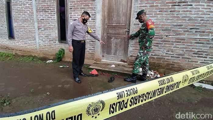 Lokasi pria bacok adik ipar hingga tewas di Magelang, Kamis (18/3/2021).
