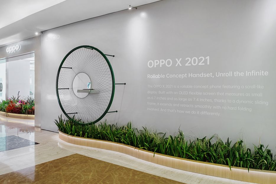 OPPO X 2021 di OPPO Gallery