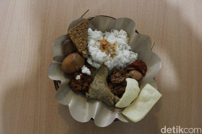 Sedapnya Nasi Gudeg Organik dan Sehat di FresGreen Organic