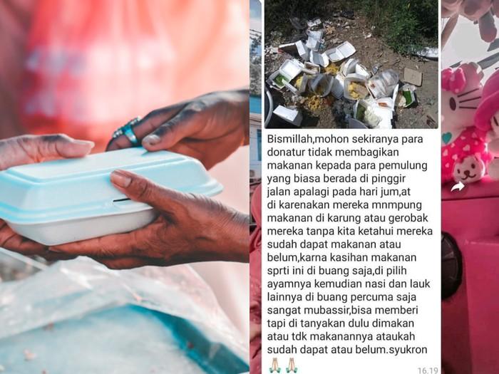 Miris, Puluhan Nasi Kotak untuk Donasi Terbuang Begitu Saja