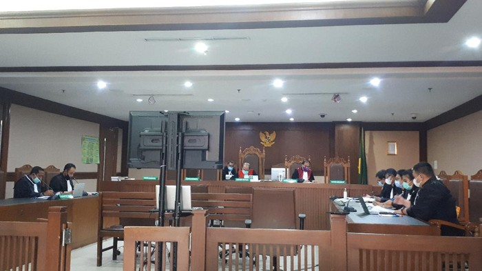 Sidang kasus korupsi Bambang Giatno (Dwi Andayani-detikcom)