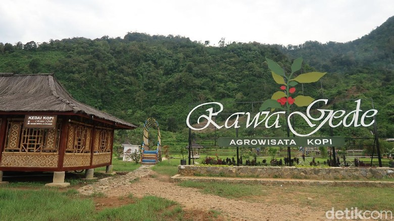 Situ Rawa Gede di Bogor