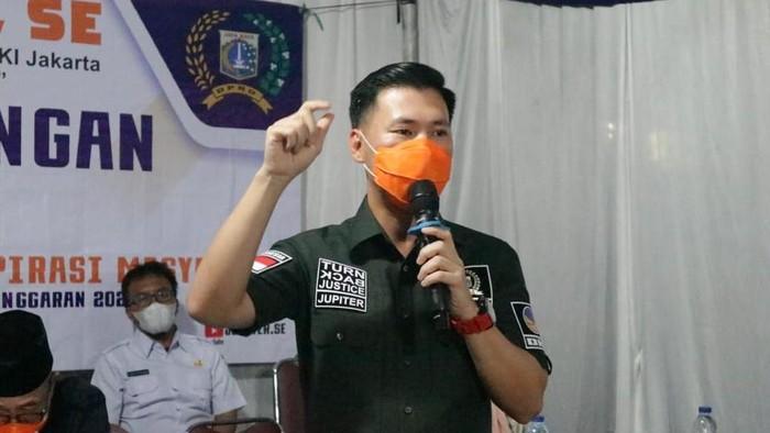 Bendahara Fraksi NasDem DKI Jakarta, Ahmad Lukman Jupiter