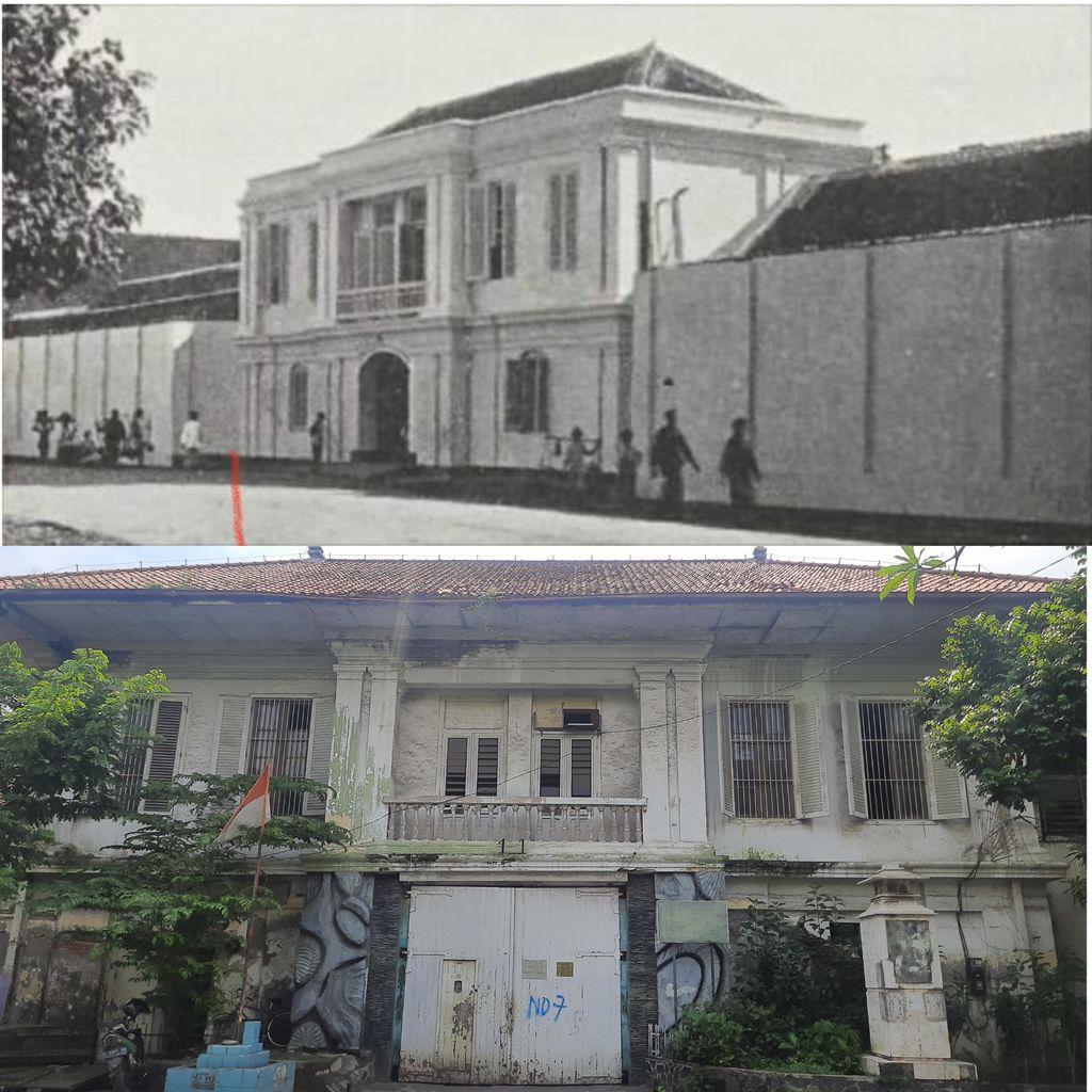 Bangunan eks penjara kalisosok surabaya