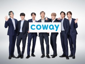 Go Global, Coway Dapuk BTS Jadi Brand Ambassador Terbaru