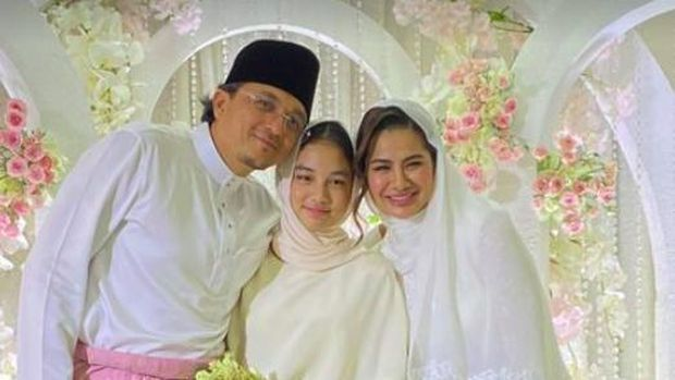 Engku Aleesya di Pernikahan Engku Emran dan Noor Nabila