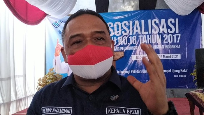 Kepala Badan Perlindungan Pekerja Migran Indonesia (BP2MI) Benny Rhamdani