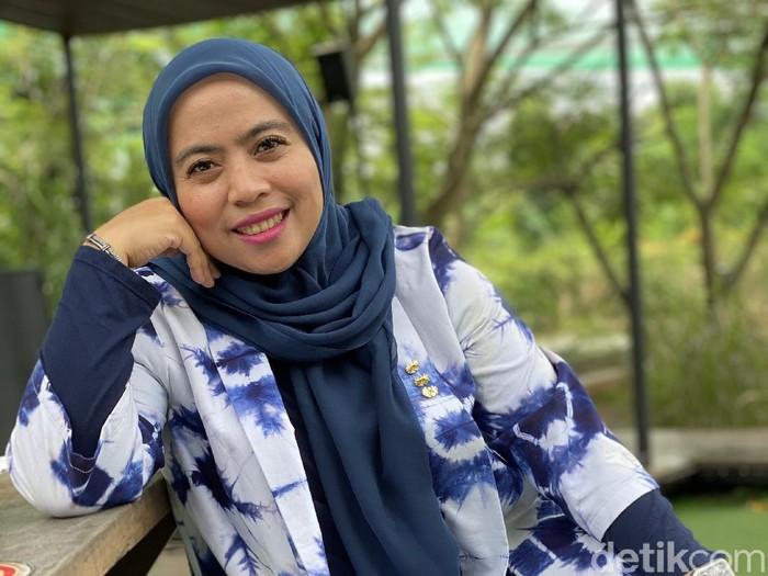 Ketua KPU DKI Jakarta Betty Epsilon Idroos (Foto: Daniel Ngantung/detikcom)