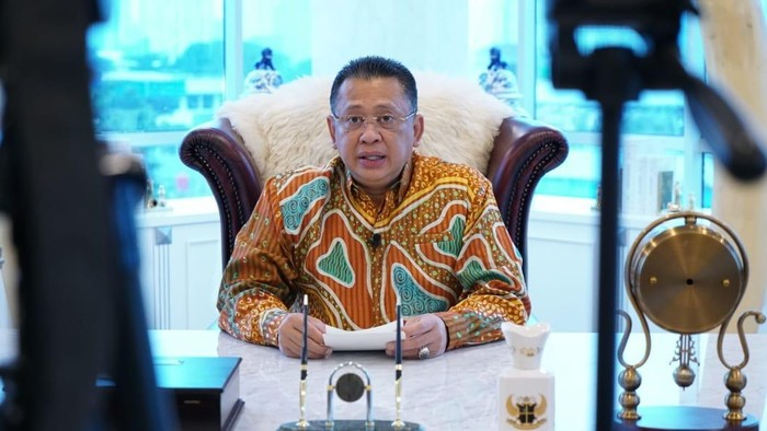 Ketua MPR RI Bambang Soesatyo membuka pameran Indonesia International Motor Show (IIMS) Virtual 2021 Fase II.