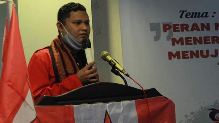Ketua Umum DPP GMNI, Arjuna Putra Aldino