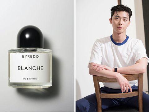 Parfum Mewah Artis Korea, Byredo Blanche, Park Seo Joon
