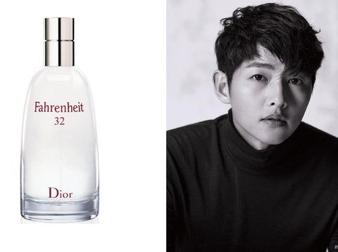 Parfum Mewah Artis Korea, Dior Fahrenheit 32, Song Joong Ki