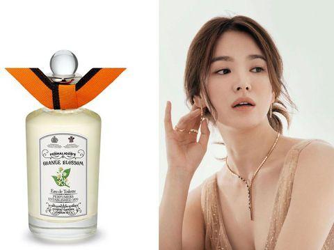 Parfum Mewah Artis Korea, Penhaligon's Orange Blossom, Song Hye Kyo
