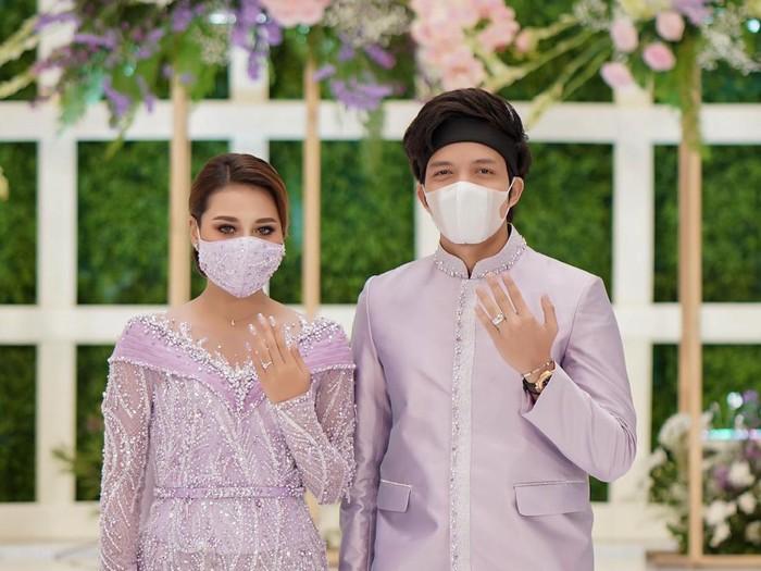 Perhiasan Miss Mondial di Lamaran Atta Halilintar dan Aurel Hermansyah