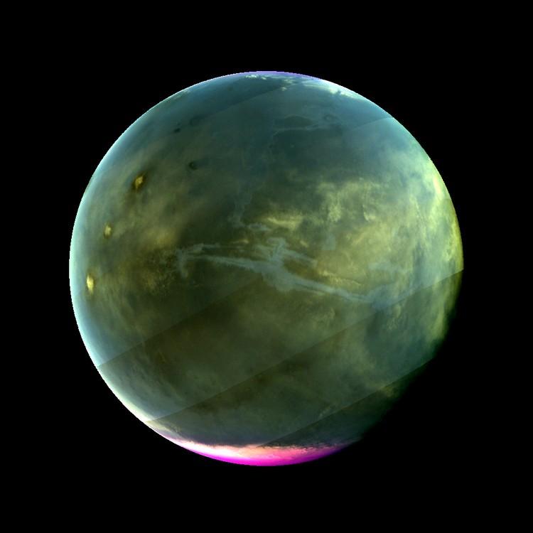 Tampilan Ultraviolet Mars