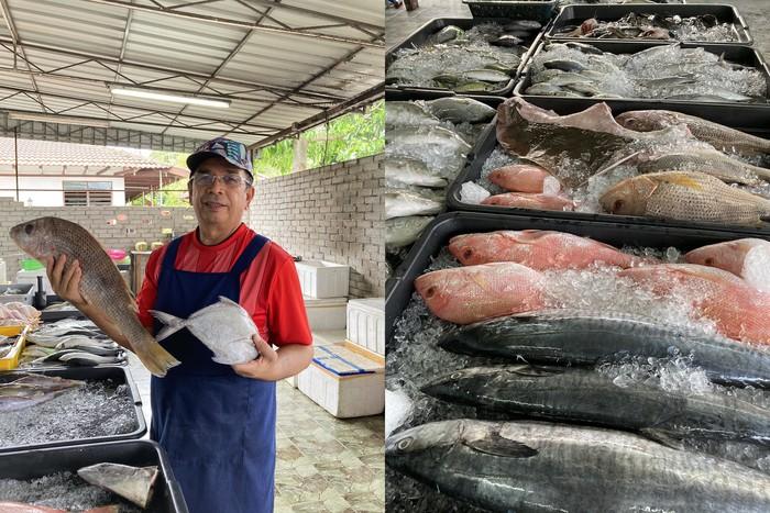 Sedih! Anak Ini Curhat, Ayahnya Jual Ikan Segar  Tak Laku