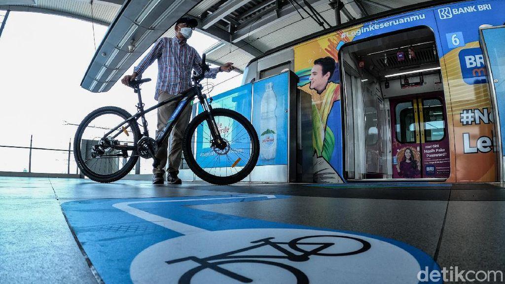 Ntaps, Ini 3 Stasiun MRT yang Sudah Bisa Diakses Sepeda Non Lipat