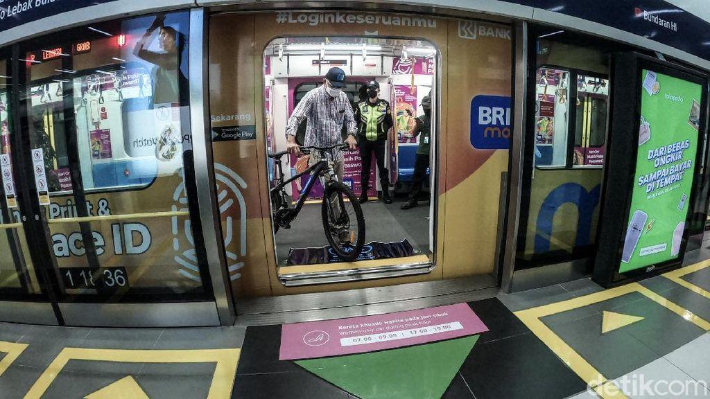 Siap-siap! Sepeda Non Lipat Sebentar Lagi Bisa Masuk MRT