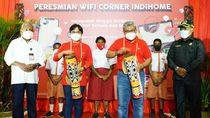 Telkom Selimuti Papua dengan Internet WiFi Corner
