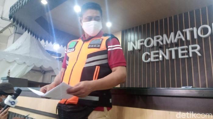 Eksekutif General Manager Bandara Halim Perdanakusuma, Nandang Sukarna (Kadek Melda/detikcom)
