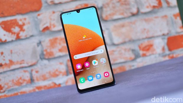 Galaxy A32, ponsel anyar Samsung harga Rp 3 jutaan
