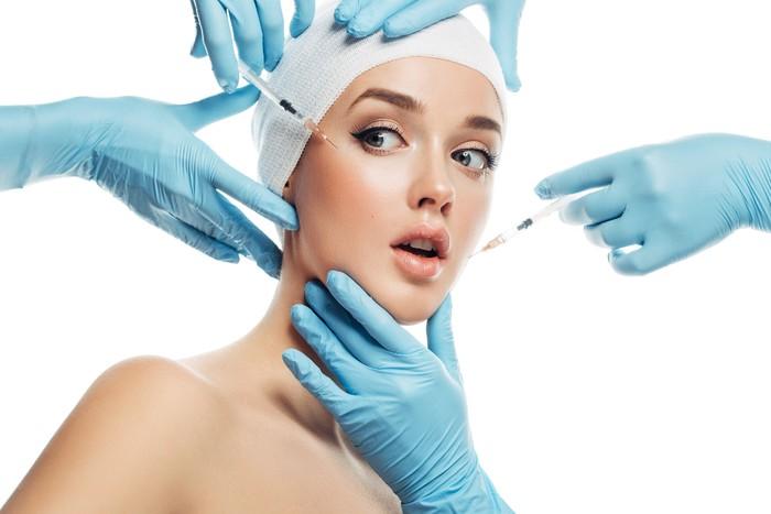 Ilustrasi klinik kecantikan