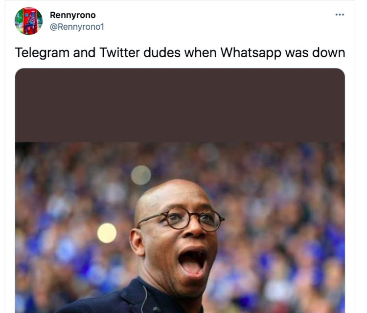 Meme WhatsApp down