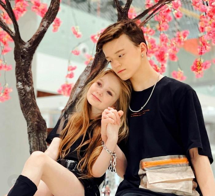 Mila Maxanets dan Pavel Pai, pasangan di bawah umur menikah