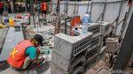 Progres Terkini Penataan Stasiun Gondangdia