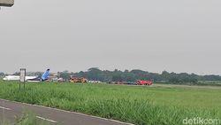 Gangguan Mesin, Trigana Air yang Sudah Take Off Balik Lagi ke Halim