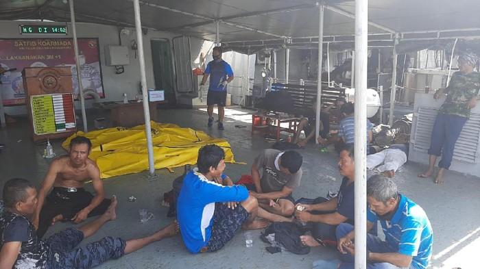 Kapal Ojek Tenggelam di Teluk Jakarta Tewaskan 3 Orang