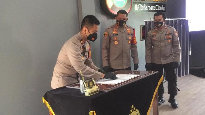 Kapolres Jaksel resmikan aula Polsek Cilandak