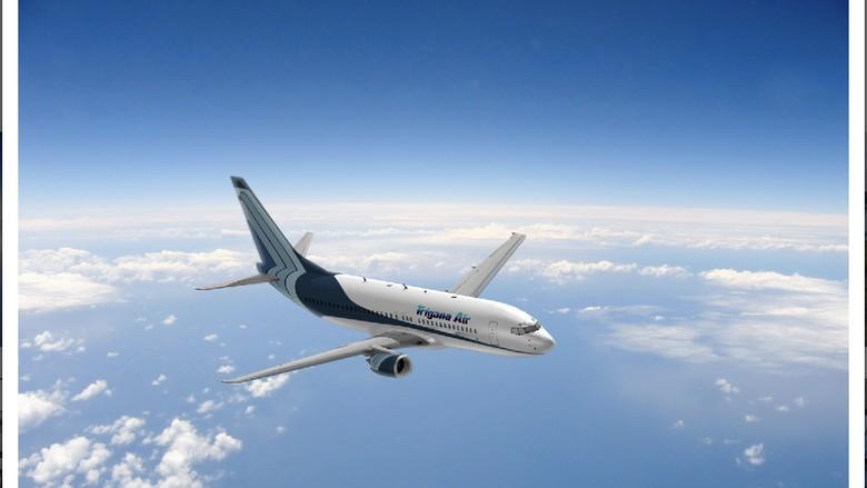 Pesawat Boeing 737-300 dan 400 Trigana Air