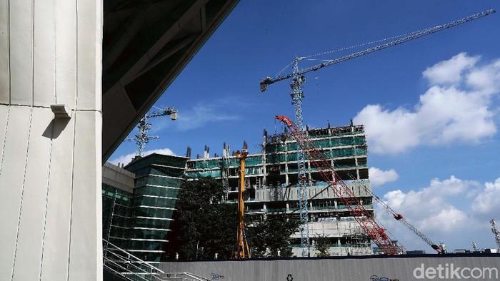 Pembangunan revitalisasi Taman Ismail Marzuki (TIM), di Jalan Cikini Raya, Menteng, Jakarta Pusat, terus dikebut. Progres pembangunan tahap I sudah mencapai 61,1 persen.