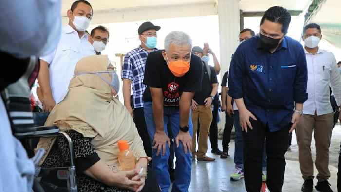Sentra Vaksinasi Bersama BUMN di Semarang akan melayani lansia umum. Cukup bawa KTP