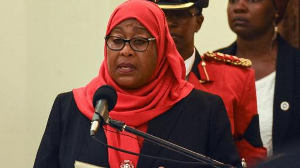 Kamala Harris Beri Selamat ke Presiden Wanita Pertama Tanzania