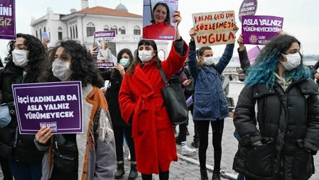 Eropa Desak Turki Balik ke Pakta Pencegahan Kekerasan terhadap Wanita