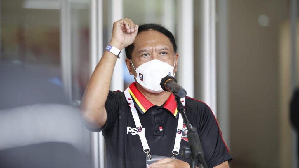 Presiden Jokowi Buka Kans Liga 1 dengan Penonton, Menpora Lakukan Ini