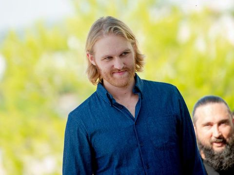 SITGES, SPAIN - OCTOBER 11:  Wyatt Russell attends the 'OVERLORD' photo call at the 2018 Sitges Film Festival held at the Hotel Melia on October 11, 2018 in Sitges, Spain.  (Photo by Samuel de Roman/Getty Images for Paramount Pictures)