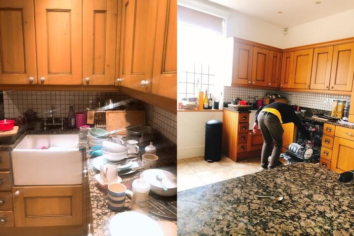 3 Hari Berhenti Masak dan Cuci Piring, Rumah Wanita Ini Mirip Kapal Pecah