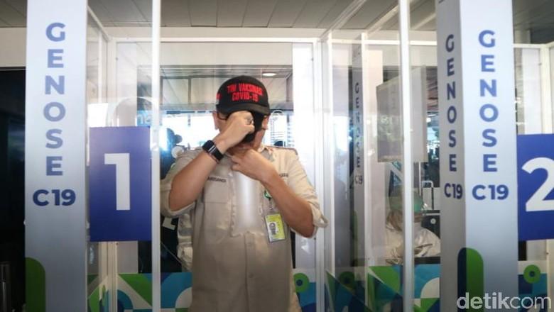 Bandara Husein Sastranegara Bandung Mulai Simulasi GeNose C19