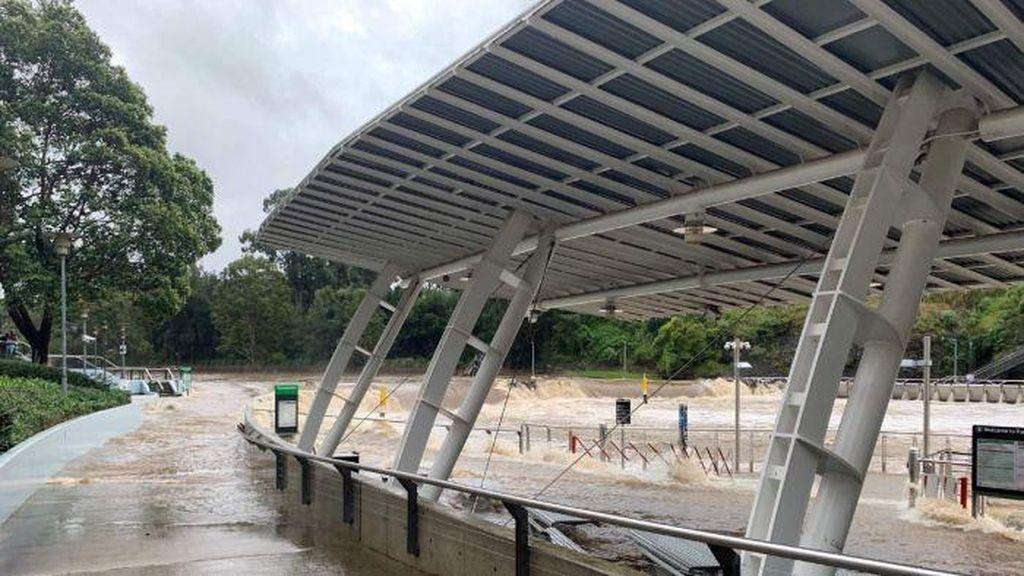 Banjir Besar Menerjang Kawasan Sydney, Belum Ada Warga Indonesia Terdampak