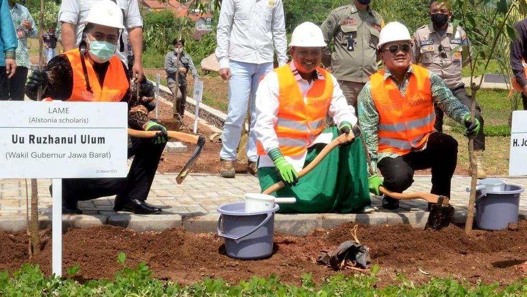Saat Wagub Jabar Dorong Pembangunan Hutan Kota