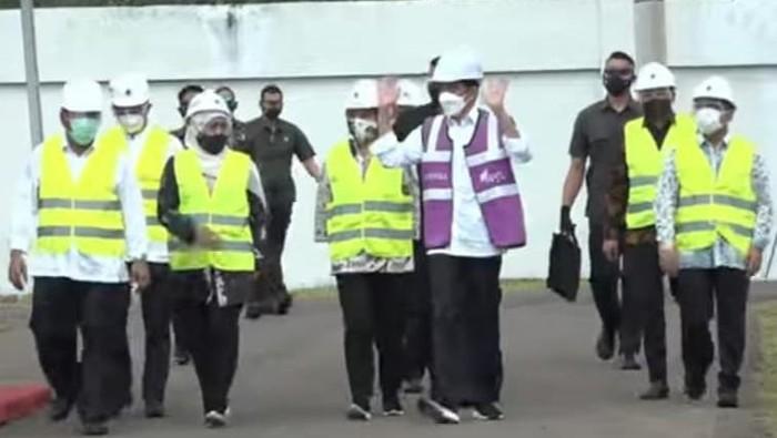 Jokowi Resmikan Proyek SPAM Umbulan Pasuruan
