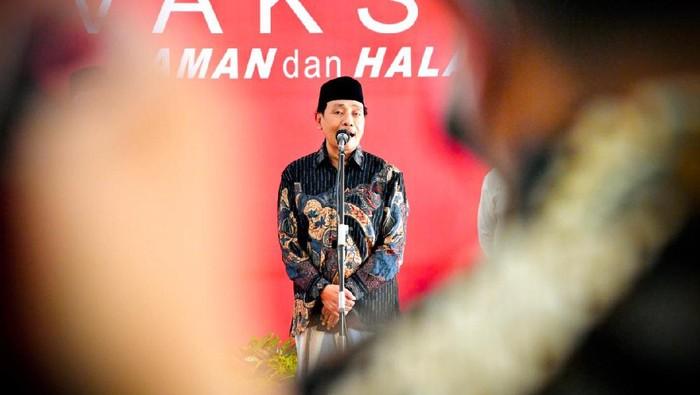Ketua MUI Jawa Timur KH Hasan Mutawakkil Alallah