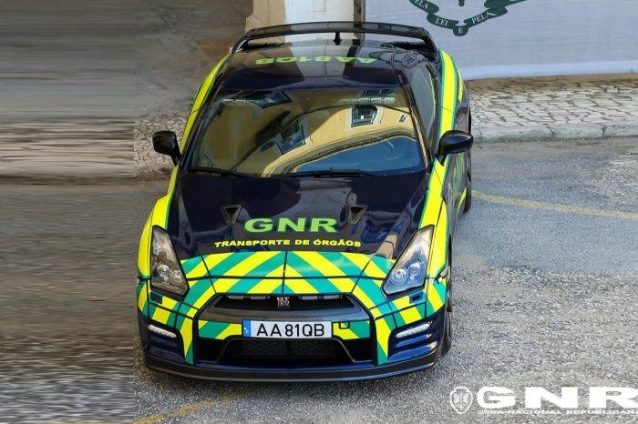 Nissan GT-R jadi mobil pengantar organ tubuh