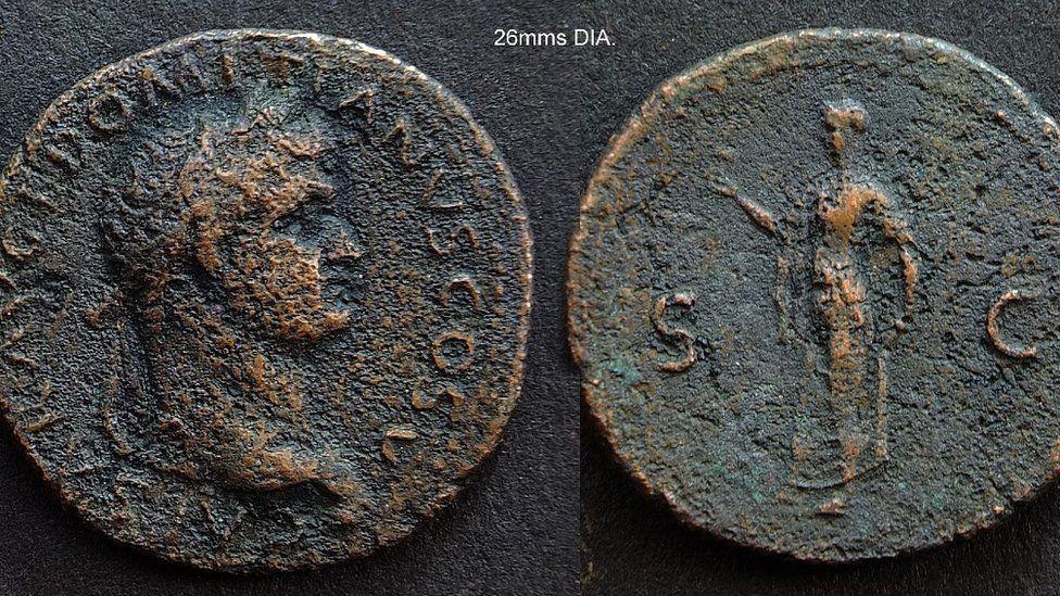 Penemuan artefak peninggalan Romawi di Inggris