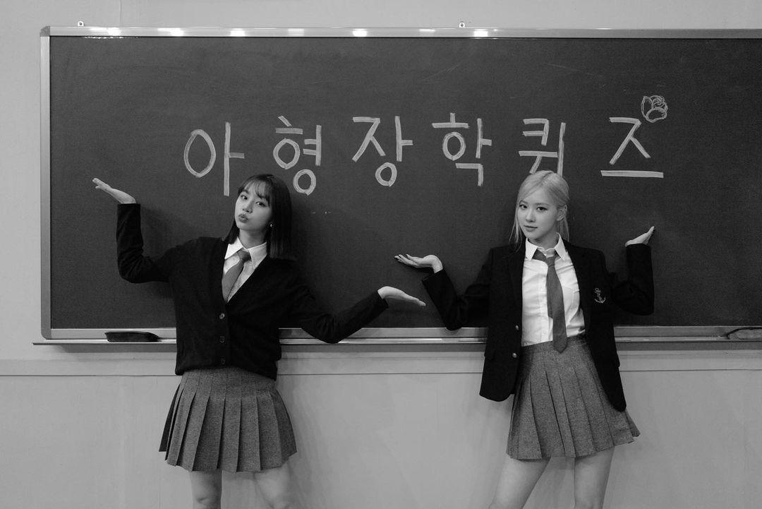 Pertemanan Rose BLACKPINK dan Hyeri Girl's Day
