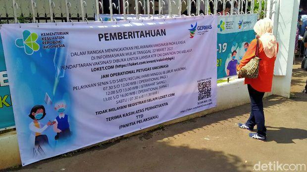 Vaksinasi massal di BBPK Hang Jebat bisa untuk luar DKI