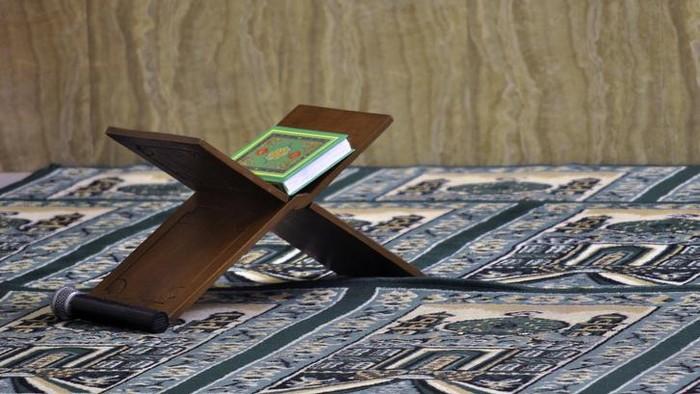 al Quran on a recal in a mosque
